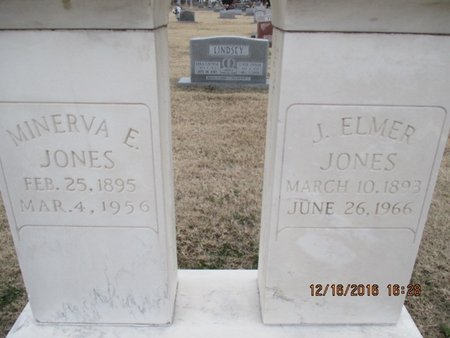 JONES, MINERVA ELIZABETH - Pemiscot County, Missouri | MINERVA ELIZABETH JONES - Missouri Gravestone Photos