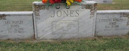 JONES, KATHRINE - Pemiscot County, Missouri   KATHRINE JONES - Missouri Gravestone Photos