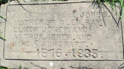JONES, MARTHA GRACE - Pemiscot County, Missouri | MARTHA GRACE JONES - Missouri Gravestone Photos