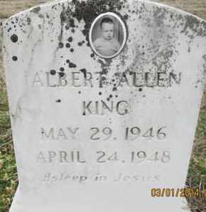 KING, ALBERT ALLEN - Pemiscot County, Missouri | ALBERT ALLEN KING - Missouri Gravestone Photos