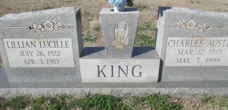 KING, LILLIAN LUCILLE - Pemiscot County, Missouri | LILLIAN LUCILLE KING - Missouri Gravestone Photos