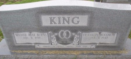 KING, FRANKLIN WOODROW - Pemiscot County, Missouri | FRANKLIN WOODROW KING - Missouri Gravestone Photos
