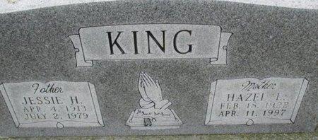 KING, JESSIE HOWARD - Pemiscot County, Missouri | JESSIE HOWARD KING - Missouri Gravestone Photos