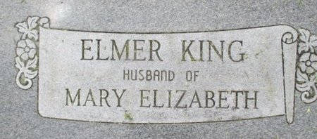 KING, ISAAC ELMER - Pemiscot County, Missouri | ISAAC ELMER KING - Missouri Gravestone Photos