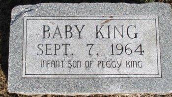 KING, INFANT SON - Pemiscot County, Missouri   INFANT SON KING - Missouri Gravestone Photos