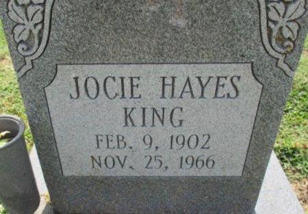 KING, JOCIE BELL - Pemiscot County, Missouri | JOCIE BELL KING - Missouri Gravestone Photos