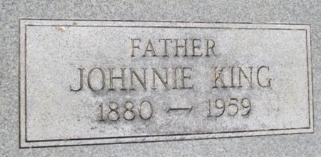 KING, JOHNNIE CLEVELAND - Pemiscot County, Missouri | JOHNNIE CLEVELAND KING - Missouri Gravestone Photos