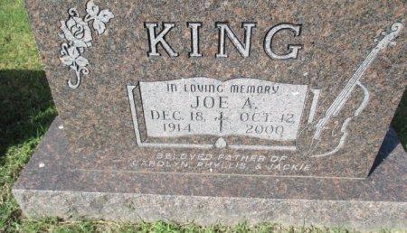 KING, JOE A. - Pemiscot County, Missouri | JOE A. KING - Missouri Gravestone Photos