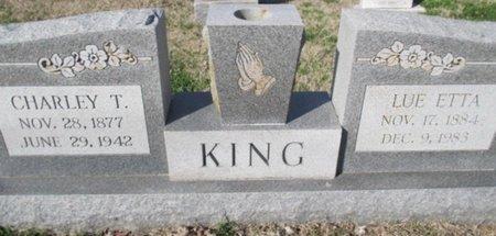 LOOKINGBEE KING, LUE ETTA - Pemiscot County, Missouri   LUE ETTA LOOKINGBEE KING - Missouri Gravestone Photos