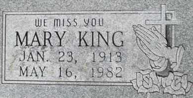 KING, MARY - Pemiscot County, Missouri | MARY KING - Missouri Gravestone Photos