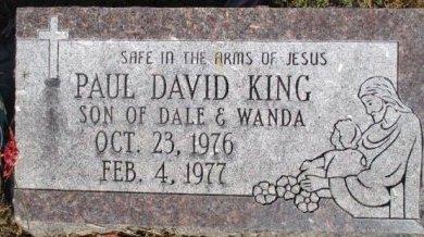 KING, PAUL DAVID - Pemiscot County, Missouri   PAUL DAVID KING - Missouri Gravestone Photos