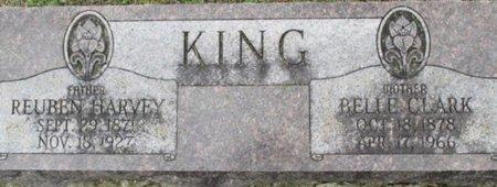 KING, REUBEN HARVEY - Pemiscot County, Missouri | REUBEN HARVEY KING - Missouri Gravestone Photos