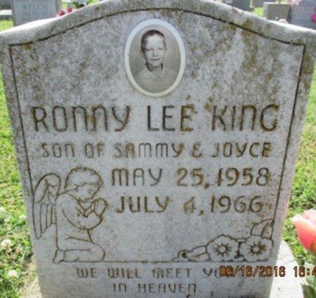 KING, RONNY LEE - Pemiscot County, Missouri | RONNY LEE KING - Missouri Gravestone Photos