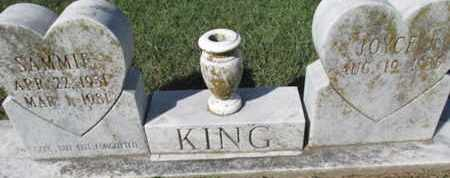 KING, SAMMIE - Pemiscot County, Missouri   SAMMIE KING - Missouri Gravestone Photos