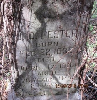 LESTER, J. C. - Pemiscot County, Missouri | J. C. LESTER - Missouri Gravestone Photos