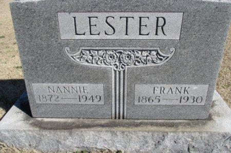 LESTER, NANNIE TERESA - Pemiscot County, Missouri | NANNIE TERESA LESTER - Missouri Gravestone Photos