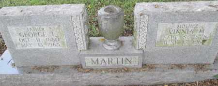 MARTIN, VINNA M. - Pemiscot County, Missouri | VINNA M. MARTIN - Missouri Gravestone Photos