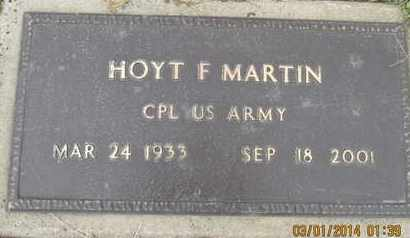 MARTIN, HOYT FRANKLIN VETERAN - Pemiscot County, Missouri | HOYT FRANKLIN VETERAN MARTIN - Missouri Gravestone Photos