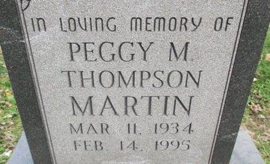 MARTIN, PEGGY M. - Pemiscot County, Missouri | PEGGY M. MARTIN - Missouri Gravestone Photos