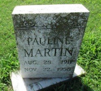 MARTIN, PAULINE - Pemiscot County, Missouri | PAULINE MARTIN - Missouri Gravestone Photos