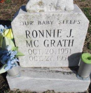 MCGRATH, RONNIE JAMES - Pemiscot County, Missouri   RONNIE JAMES MCGRATH - Missouri Gravestone Photos
