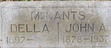 MCCANTS, DELLA - Pemiscot County, Missouri | DELLA MCCANTS - Missouri Gravestone Photos