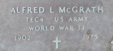 MCGRATH, ALFRED LEONARD VETERAN - Pemiscot County, Missouri | ALFRED LEONARD VETERAN MCGRATH - Missouri Gravestone Photos