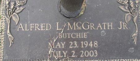 "MCGRATH, ALFRED ""BUTCH"" JR - Pemiscot County, Missouri | ALFRED ""BUTCH"" JR MCGRATH - Missouri Gravestone Photos"