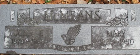 MCMEANS, MARY - Pemiscot County, Missouri | MARY MCMEANS - Missouri Gravestone Photos