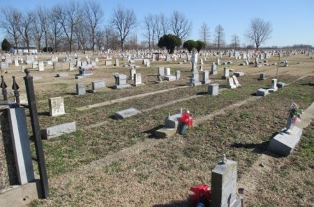 """*, OVERVIEW OF """"BABY TOWN"""" LOOKING SOUTH - Pemiscot County, Missouri 