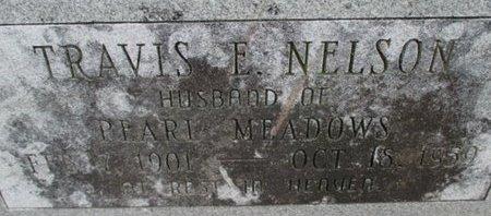 NELSON, TRAVIS E. - Pemiscot County, Missouri | TRAVIS E. NELSON - Missouri Gravestone Photos