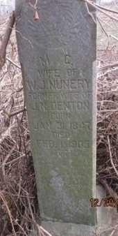 NUNERY, M. C. - Pemiscot County, Missouri | M. C. NUNERY - Missouri Gravestone Photos