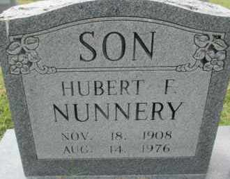 NUNNERY, HUBERT FRANKLIN - Pemiscot County, Missouri | HUBERT FRANKLIN NUNNERY - Missouri Gravestone Photos