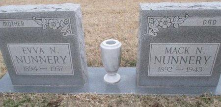 NUNNERY, EVVA N. - Pemiscot County, Missouri | EVVA N. NUNNERY - Missouri Gravestone Photos