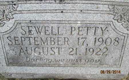 PETTY, SEWELL - Pemiscot County, Missouri | SEWELL PETTY - Missouri Gravestone Photos