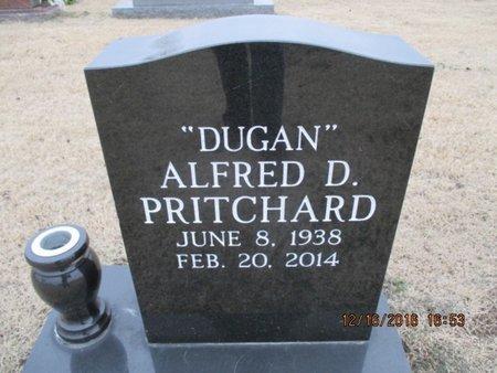 "PRITCHARD, ALFRED D. ""DUGAN"" - Pemiscot County, Missouri | ALFRED D. ""DUGAN"" PRITCHARD - Missouri Gravestone Photos"