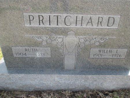 PRITCHARD, WILLIE L. - Pemiscot County, Missouri | WILLIE L. PRITCHARD - Missouri Gravestone Photos