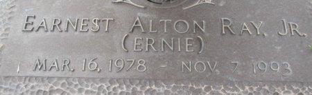 RAY, ERNEST ALTON JR. - Pemiscot County, Missouri | ERNEST ALTON JR. RAY - Missouri Gravestone Photos