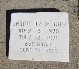 RAY, JASON WADE - Pemiscot County, Missouri | JASON WADE RAY - Missouri Gravestone Photos