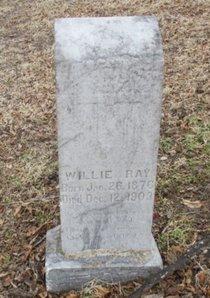 RAY, WILLIE - Pemiscot County, Missouri   WILLIE RAY - Missouri Gravestone Photos