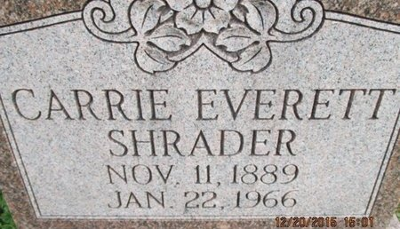 SHRADER, CARRIE - Pemiscot County, Missouri | CARRIE SHRADER - Missouri Gravestone Photos