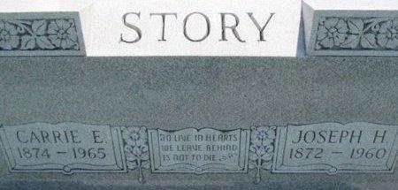 STORY, JOSEPH HARVEY - Pemiscot County, Missouri | JOSEPH HARVEY STORY - Missouri Gravestone Photos