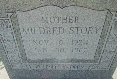 STORY, MILDRED THELMA - Pemiscot County, Missouri | MILDRED THELMA STORY - Missouri Gravestone Photos
