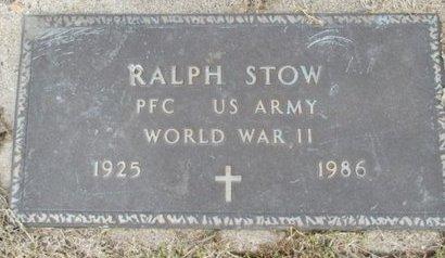 STOW, RALPH VETERAN WWII - Pemiscot County, Missouri | RALPH VETERAN WWII STOW - Missouri Gravestone Photos