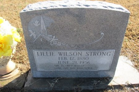 STRONG, LILLIE - Pemiscot County, Missouri | LILLIE STRONG - Missouri Gravestone Photos