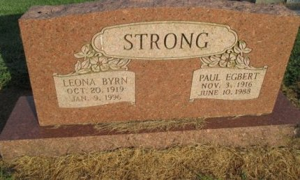 STRONG, PAUL EGBERT - Pemiscot County, Missouri | PAUL EGBERT STRONG - Missouri Gravestone Photos