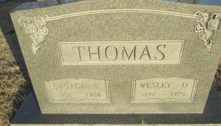 THOMAS, WESLEY D. - Pemiscot County, Missouri | WESLEY D. THOMAS - Missouri Gravestone Photos