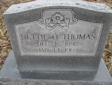 THOMAS, NETTIE O. - Pemiscot County, Missouri | NETTIE O. THOMAS - Missouri Gravestone Photos