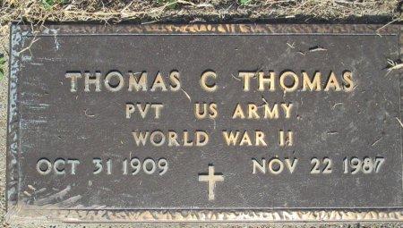 "THOMAS, THOMAS COX ""COOT"" (VETERAN WWII) - Pemiscot County, Missouri | THOMAS COX ""COOT"" (VETERAN WWII) THOMAS - Missouri Gravestone Photos"
