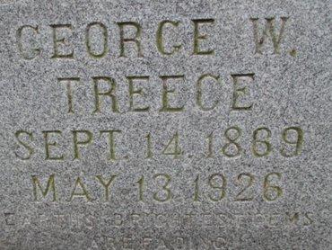 TREECE, GEORGE W. - Pemiscot County, Missouri   GEORGE W. TREECE - Missouri Gravestone Photos